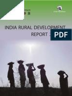 India Rural Devt Report 2013- IDFC