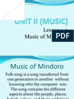 Unit II (Music)