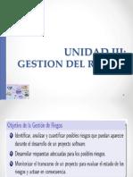 Unidad III Gestion Del Riesgo 2013