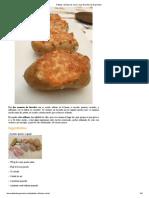 Patatas Rellenas de Carne Con Queso