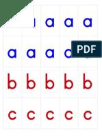 Movable Alphabet - Print