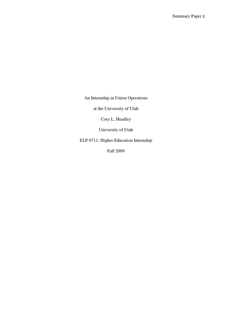 summary of internship internship psychology cognitive science