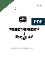 Emergency Preparedness Response Plan Rev 03