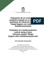 Evaluación de un controlador predictivo basado en un modelo