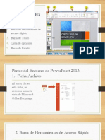 Entorno PowerPoint 2013