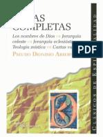 Pseudo Dionisio Areopagita. Obras completas.pdf