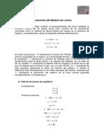 Ecuaciones Del Modelo de Lorenz-René Guerrero Paredes