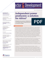 Independent power producers