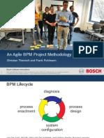 An Agile BPM Project Methodology
