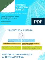 Auditorias Internas - Laboratorios de Ensayos II