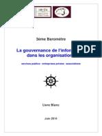 La Gouvernance de l'Information
