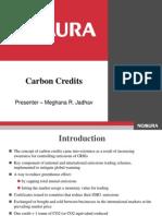 Nomura Carbon Credit PPT