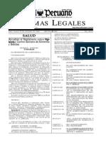 DS-007-98-SA- Vigilancia y Control Sanitario de Alimentos y Bebidas