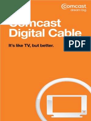 ComcastDigital_UserGuide_MOA28VOD10 | Video On Demand ... on