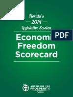 AFPFL 2014 Economic Freedom Scorecard