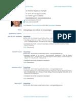 CV Javier Sandoval Formato Europeo Abril de 2014