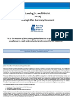 Lansing School District strategic plan