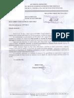 Adresa Ministerul Muncii - Vechime in Munca