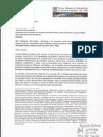 Nota Dirigida a Senador Julio César Franco - Tema Defensor Del Pueblo