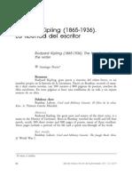 Rudyard Kipling (1865 1936) La Libertad Del Escritor