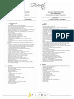 OVNI 43 Evolution Inventaire Standard