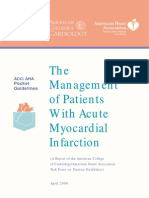 Pocket Guide + The Management of Patients With Acute Myocardial Infarction