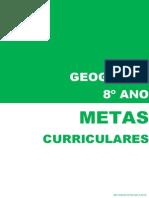 Metas Curriculares Geografia - 8º Ano