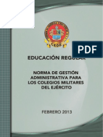 Norma Gestion COMIL CEDE 2013_leg. CD.