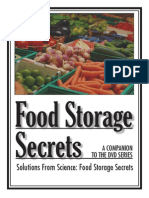 Food Storage and Canning Manual