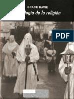 Sociología de la religión - DAVIE, Grace.pdf