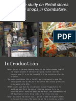 marketting condition of retail stores