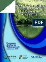 Plan de Ordenamiento Territorial Ambiental del Río La Villa