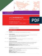 J-Conference Program 2013