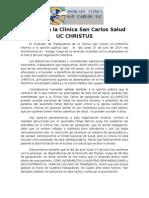 COMUNICADO Huelga en La Clínica San Carlos Salud UC CHRISTUS 2 (1)