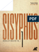 Sisyphus – Journal of Education | Vol 1, Issue 1