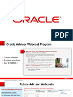 Mfg OM Advisor Webcast 2013 0618