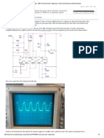 Oscilloscope - 8284 Clock Generator Output Wave - Electrical Engineering Stack Exchange