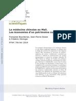 Médecine Chinoise Au Mali_Dozon