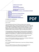 Ley de La Garantía Mobiliaria LEY Nº 28677