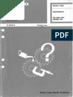 Volvo Service Manual Fault Tracing Repairs Maintenance TP30518-10