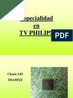 Chasis L03 y L01 de Televisores Philips Training Manual Spanish