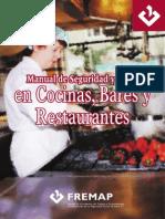 Manual de Seguridad Cocinas, Bares y Restaurantes