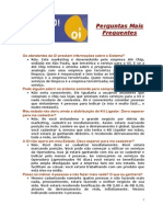 PERGUNTAS MAIS FREQUENTES (ÁLVARO-1421)