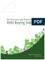 The Structure FTC Debt Buying Report 2013