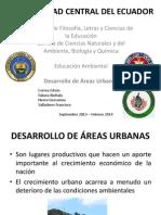 Exposicion Desarrollo de Areas Urbanas