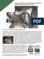 Adaptación de Modo Manual Caja Jeep Aw4