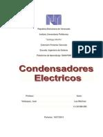 Condensadores Electrico