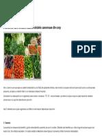 5 Alimente Care Omoara Natural Celulele Canceroase Din Corp Alimentatie Sanatoasa