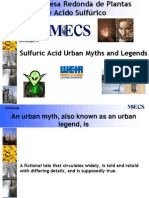 27. MECS Chile Roundtable Urban Legends and Myths