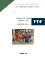 Programa Cl 5-8 2009